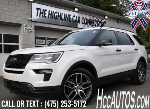 2019 Ford Explorer for sale at The Highline Car Connection in Waterbury CT