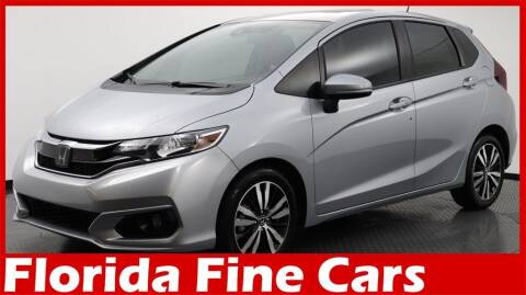 2019 Honda Fit for sale at Florida Fine Cars - West Palm Beach in West Palm Beach FL