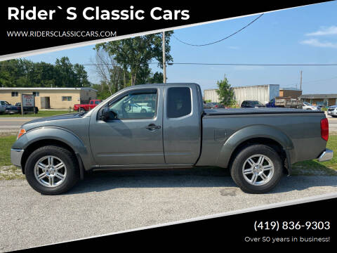 2007 Nissan Frontier for sale at Rider`s Classic Cars in Millbury OH