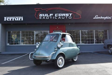1958 BMW Isetta 300 for sale at Gulf Coast Exotic Auto in Biloxi MS