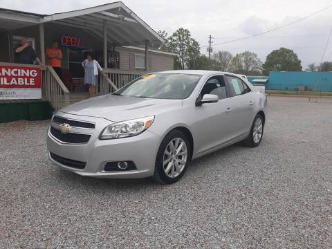 2013 Chevrolet Malibu for sale at Space & Rocket Auto Sales in Hazel Green AL