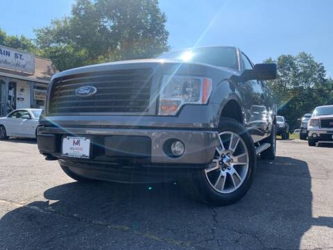 2014 Ford F-150 for sale at Mega Motors in West Bridgewater MA