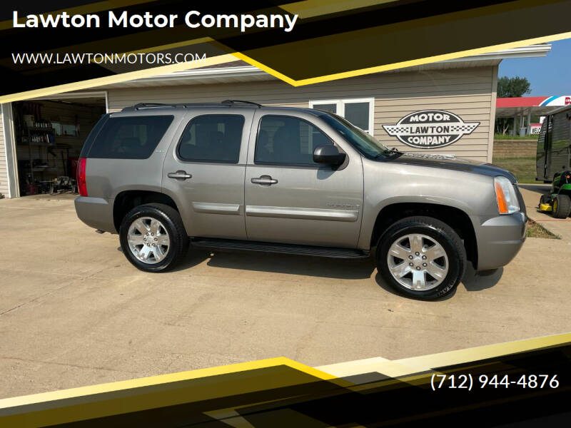 2008 GMC Yukon for sale at Lawton Motor Company in Lawton IA