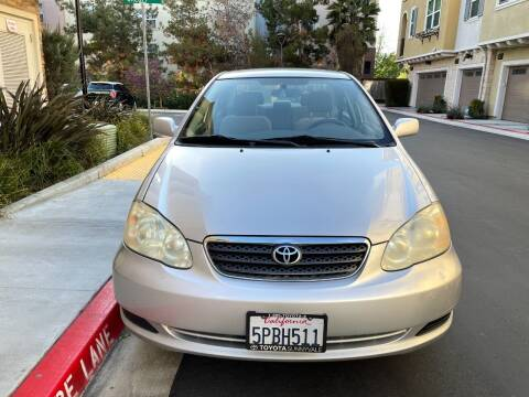 2005 Toyota Corolla for sale at Hi5 Auto in Fremont CA