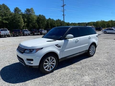 2015 Land Rover Range Rover Sport for sale at Billy Ballew Motorsports in Dawsonville GA
