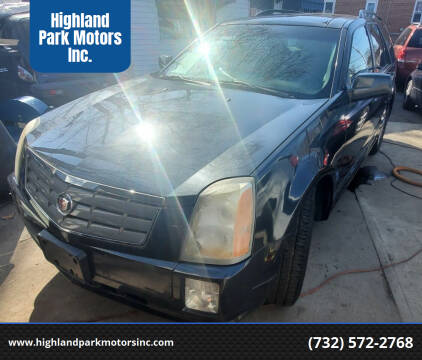 2004 Cadillac SRX for sale at Highland Park Motors Inc. in Highland Park NJ