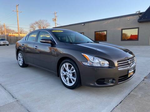 2013 Nissan Maxima for sale at Tigerland Motors in Sedalia MO