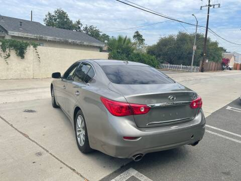 2015 Infiniti Q50 for sale at Bell Auto Inc in Long Beach CA