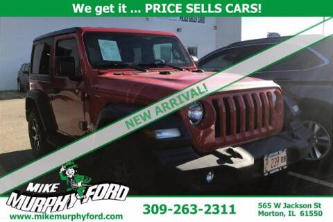 2018 Jeep Wrangler for sale at Mike Murphy Ford in Morton IL
