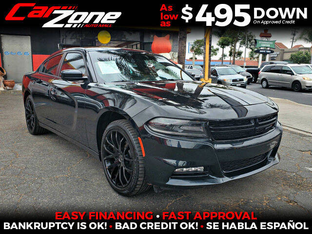 2015 Dodge Charger for sale at Carzone Automall in South Gate CA