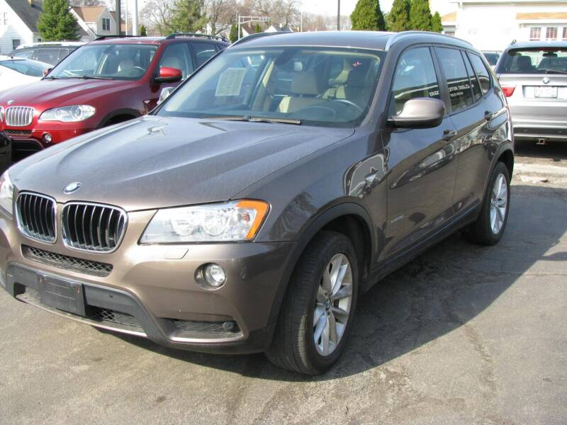 2013 BMW X3 for sale at CLASSIC MOTOR CARS in West Allis WI