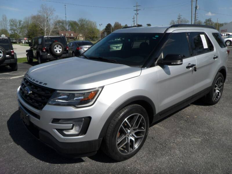 2016 Ford Explorer for sale at CARSON MOTORS in Cloverdale IN