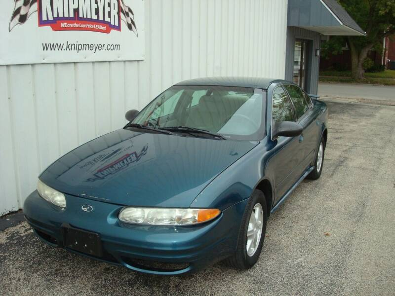 2003 Oldsmobile Alero for sale at Team Knipmeyer in Beardstown IL