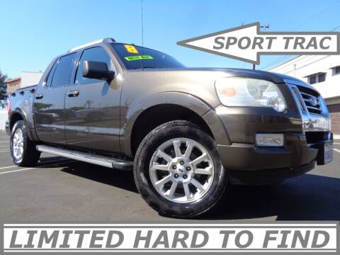 2008 Ford Explorer Sport Trac for sale at ALL STAR TRUCKS INC in Los Angeles CA