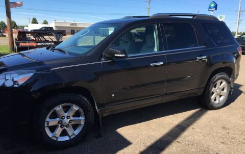 2009 Saturn Outlook for sale at BARNES AUTO SALES in Mandan ND