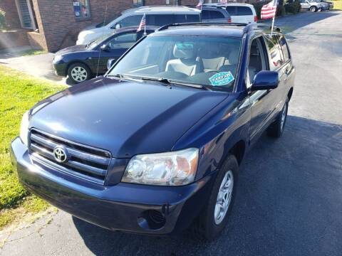 2005 Toyota Highlander for sale at ARA Auto Sales in Winston-Salem NC