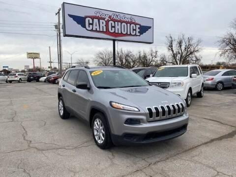 2016 Jeep Cherokee for sale at Ray Hibdon's Car Choice in Oklahoma City OK