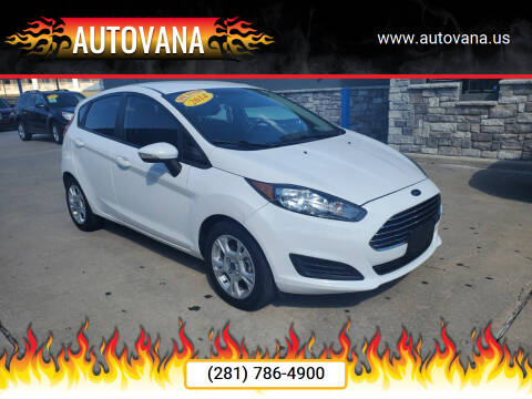 2014 Ford Fiesta for sale at AutoVana in Humble TX