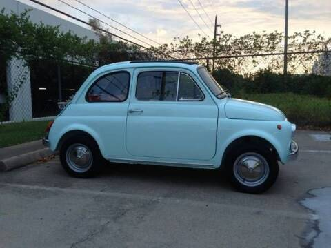 1967 FIAT 500 for sale at Classic Car Deals in Cadillac MI