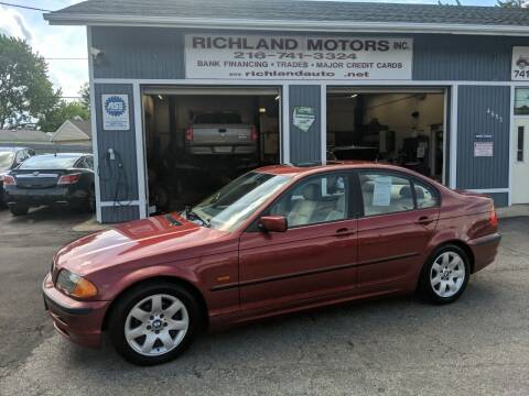 2000 BMW 3 Series for sale at Richland Motors in Cleveland OH