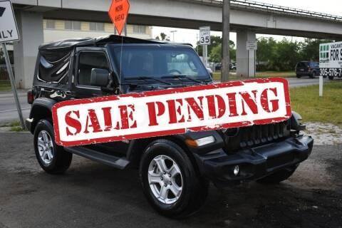 2020 Jeep Wrangler for sale at STS Automotive - Miami, FL in Miami FL