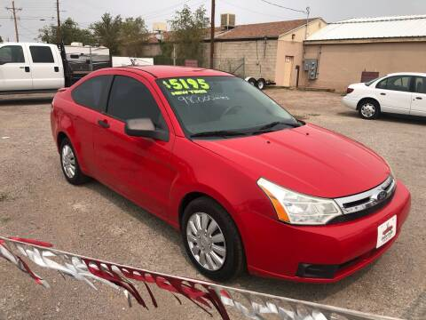 2008 Ford Focus for sale at Senor Coche Auto Sales in Las Cruces NM