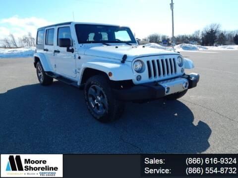 2018 Jeep Wrangler JK Unlimited for sale at Moore Shoreline Chevrolet in Sebewaing MI