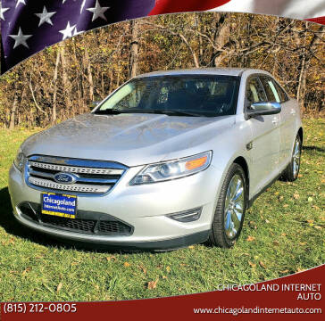 2010 Ford Taurus for sale at Chicagoland Internet Auto - 410 N Vine St New Lenox IL, 60451 in New Lenox IL