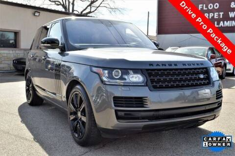 2017 Land Rover Range Rover for sale at LAKESIDE MOTORS, INC. in Sachse TX