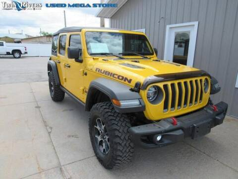 2019 Jeep Wrangler Unlimited for sale at TWIN RIVERS CHRYSLER JEEP DODGE RAM in Beatrice NE
