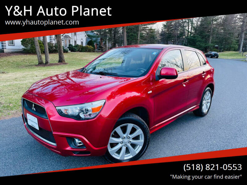 2012 Mitsubishi Outlander Sport for sale at Y&H Auto Planet in West Sand Lake NY