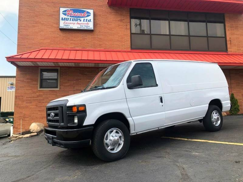 2014 Ford E-Series Cargo for sale at Rusak Motors LTD. in Cleveland OH