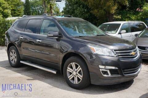 2017 Chevrolet Traverse for sale at Michael's Auto Sales Corp in Hollywood FL