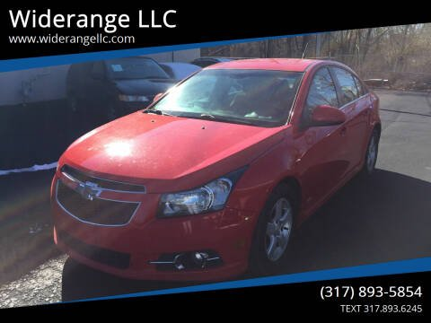 2014 Chevrolet Cruze for sale at Widerange LLC in Greenwood IN