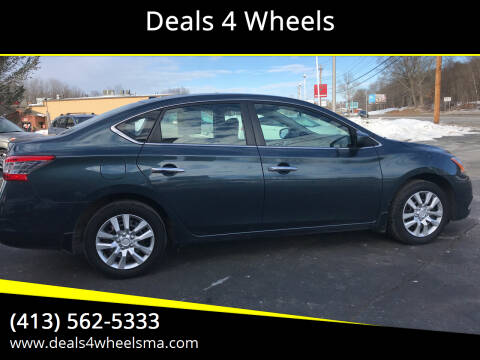 2014 Nissan Sentra for sale at Deals 4 Wheels in Westfield MA