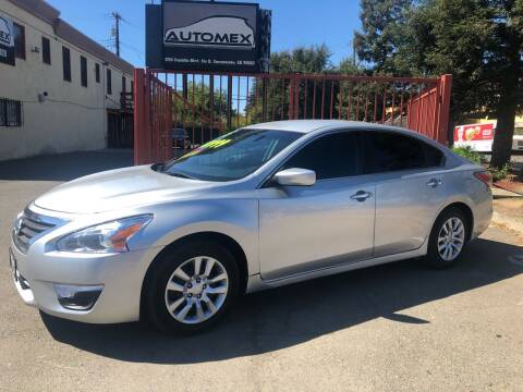 2015 Nissan Altima for sale at AUTOMEX in Sacramento CA