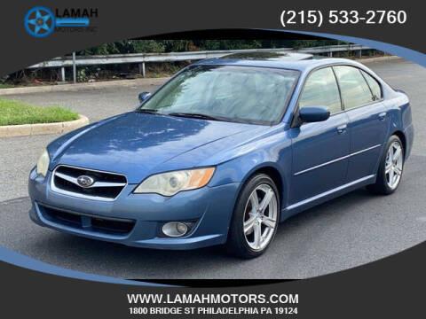 2008 Subaru Legacy for sale at LAMAH MOTORS INC in Philadelphia PA