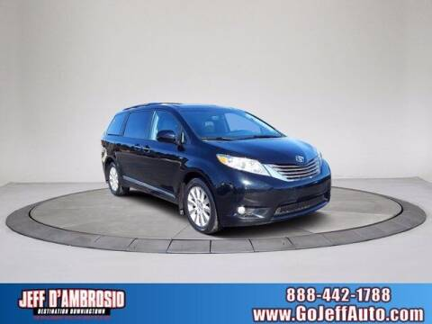 2016 Toyota Sienna for sale at Jeff D'Ambrosio Auto Group in Downingtown PA