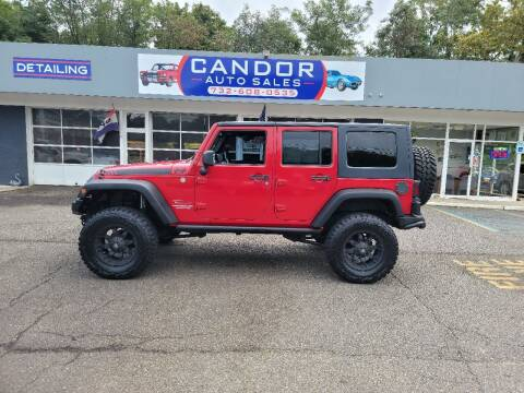 2010 Jeep Wrangler Unlimited for sale at CANDOR INC in Toms River NJ