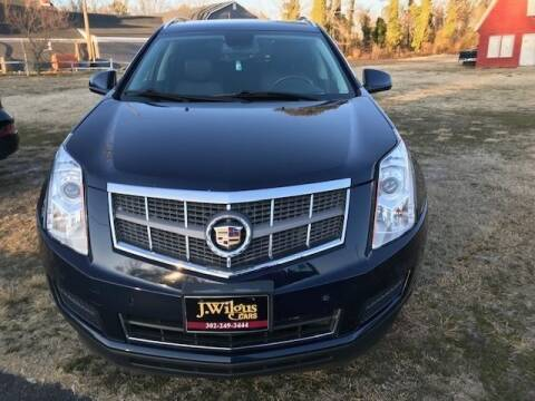2011 Cadillac SRX for sale at J Wilgus Cars in Selbyville DE