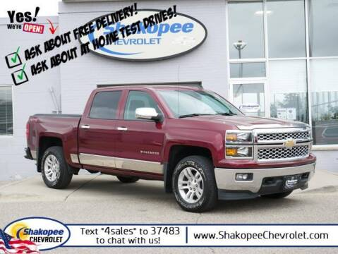 2014 Chevrolet Silverado 1500 for sale at SHAKOPEE CHEVROLET in Shakopee MN