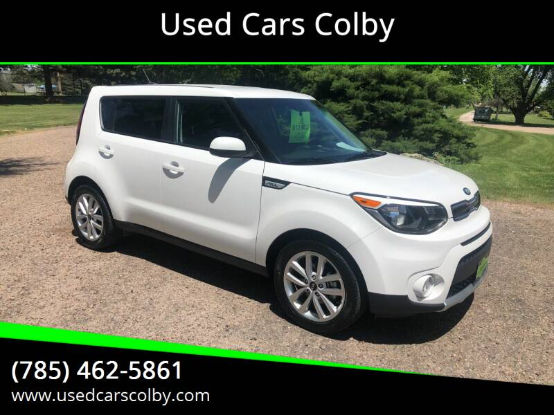 2018 Kia Soul for sale at Used Cars Colby in Colby KS