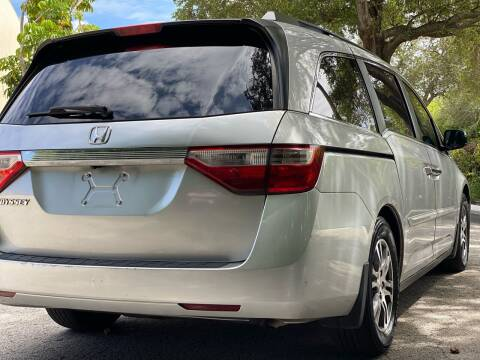 2013 Honda Odyssey for sale at HIGH PERFORMANCE MOTORS in Hollywood FL