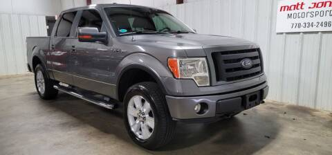 2010 Ford F-150 for sale at Matt Jones Motorsports in Cartersville GA