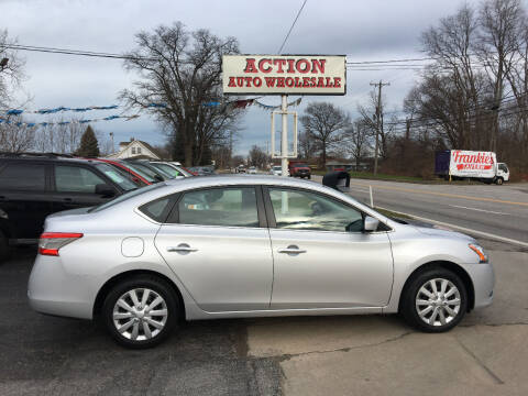 2015 Nissan Sentra for sale at Action Auto Wholesale in Painesville OH