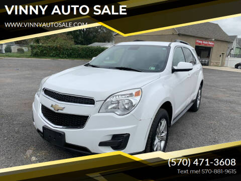 2014 Chevrolet Equinox for sale at VINNY AUTO SALE in Duryea PA