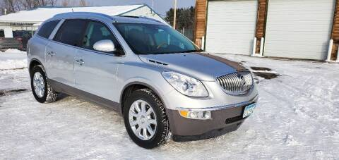 2012 Buick Enclave for sale at Transmart Autos in Zimmerman MN