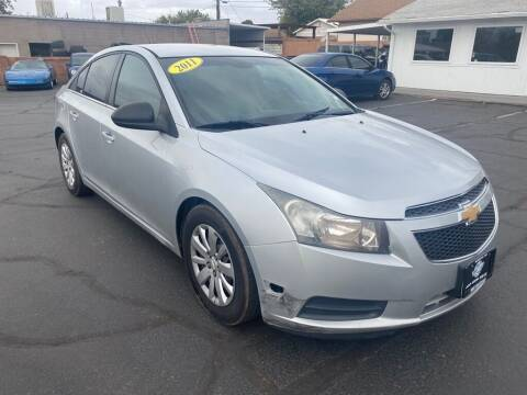 2011 Chevrolet Cruze for sale at Robert Judd Auto Sales in Washington UT