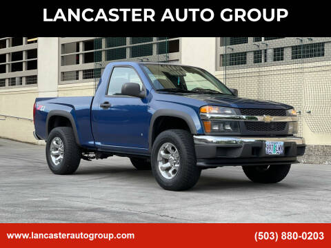 2006 Chevrolet Colorado for sale at LANCASTER AUTO GROUP in Portland OR