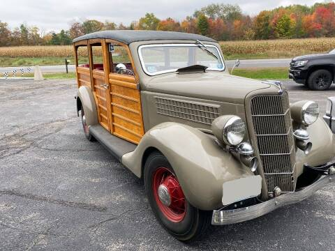 1935 Ford Woody Flat Head V8 for sale at AB Classics in Malone NY